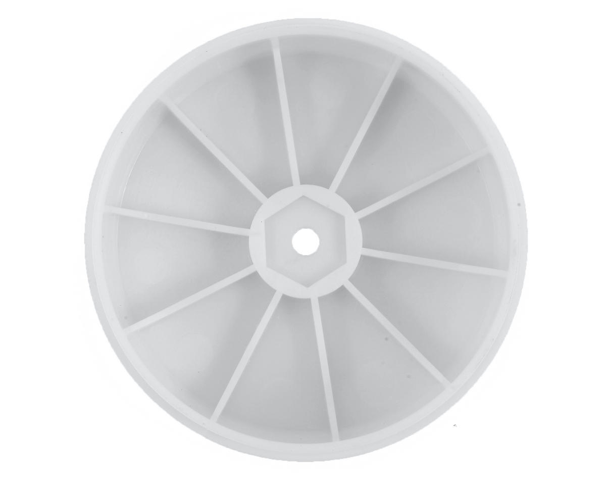 12mm Hex 61mm 1/10 2WD Front Buggy Wheels (2) (SRX-2) (White) by Serpent