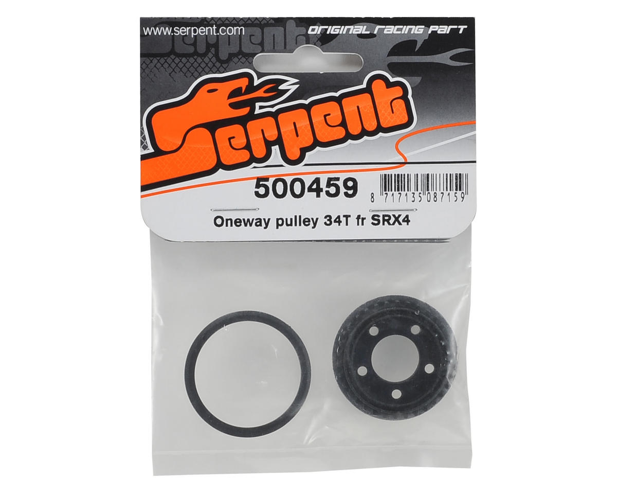 Serpent Front One-Way Pulley (34T)