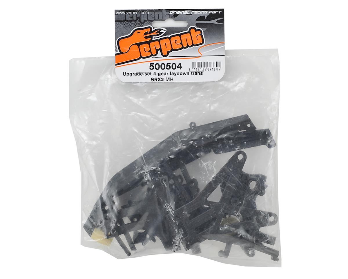 Serpent SRX2 MH 4 Gear Laydown Transmission Upgrade Set
