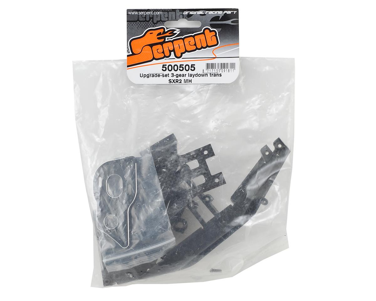 Serpent SRX-2 MH 3-Gear Laydown Transmission Upgrade Set