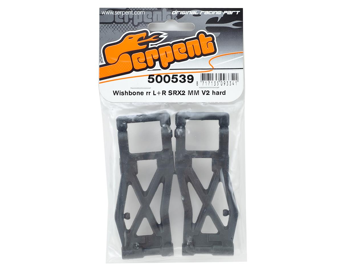 Serpent SRX2 MM V2 Rear Wishbone (Hard)