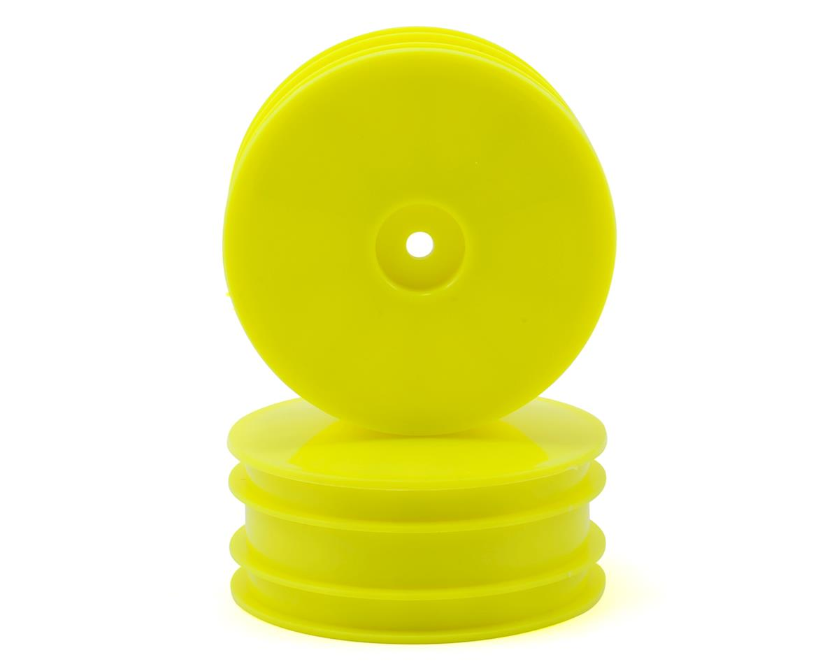 "Serpent 12mm Hex SDX4 2.2"" 4WD Front Buggy Wheels (2) (Yellow)"