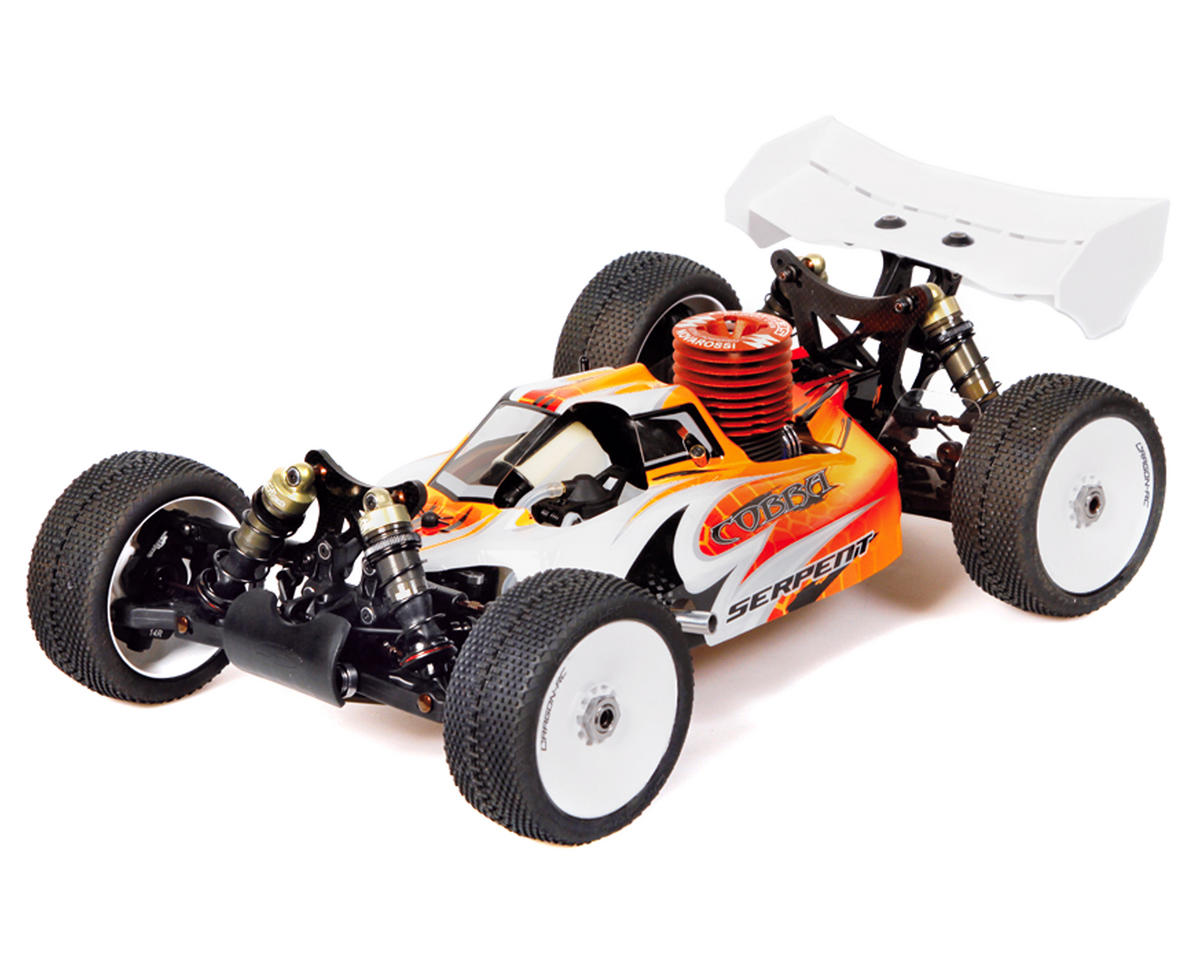 "SCRATCH & DENT: Serpent S811B 2.2 ""Cobra"" 1/8 Scale Competition Nitro Buggy Kit"