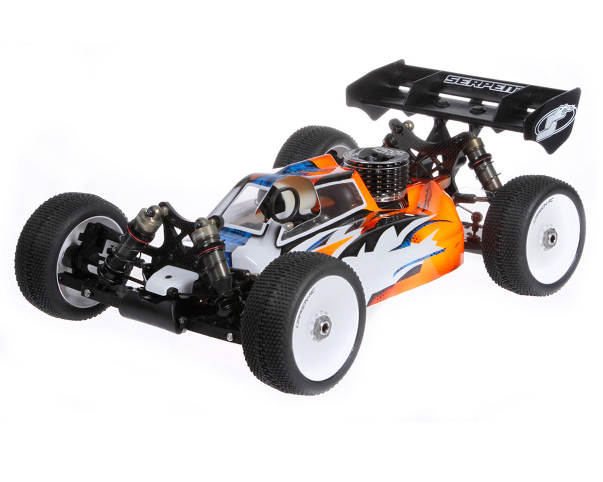 "SRX8 ""Cobra"" 1/8 Scale Competition Nitro Buggy Kit"