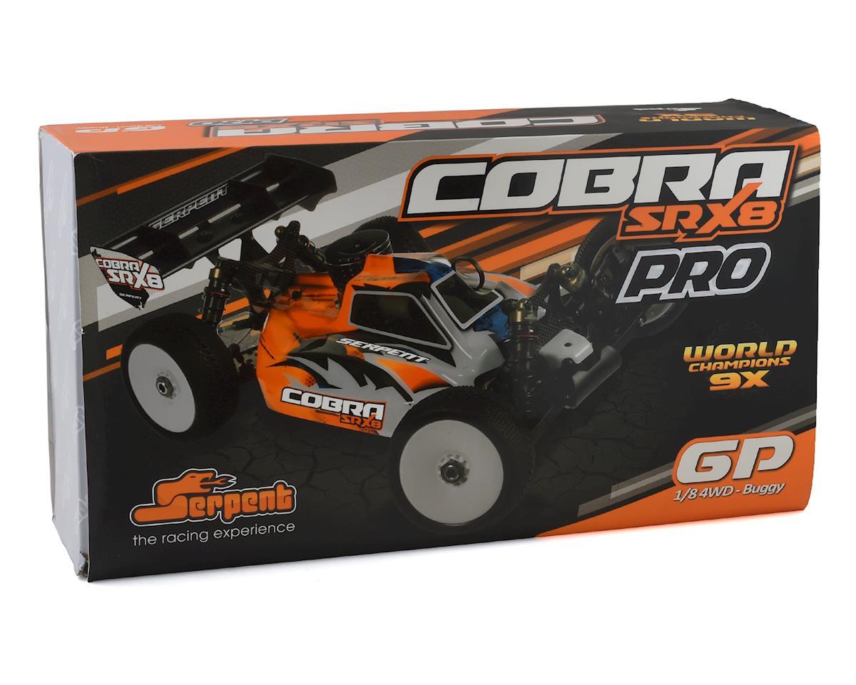 """Image 6 for Serpent SRX8 """"Cobra"""" PRO 1/8 Nitro Buggy Kit"""