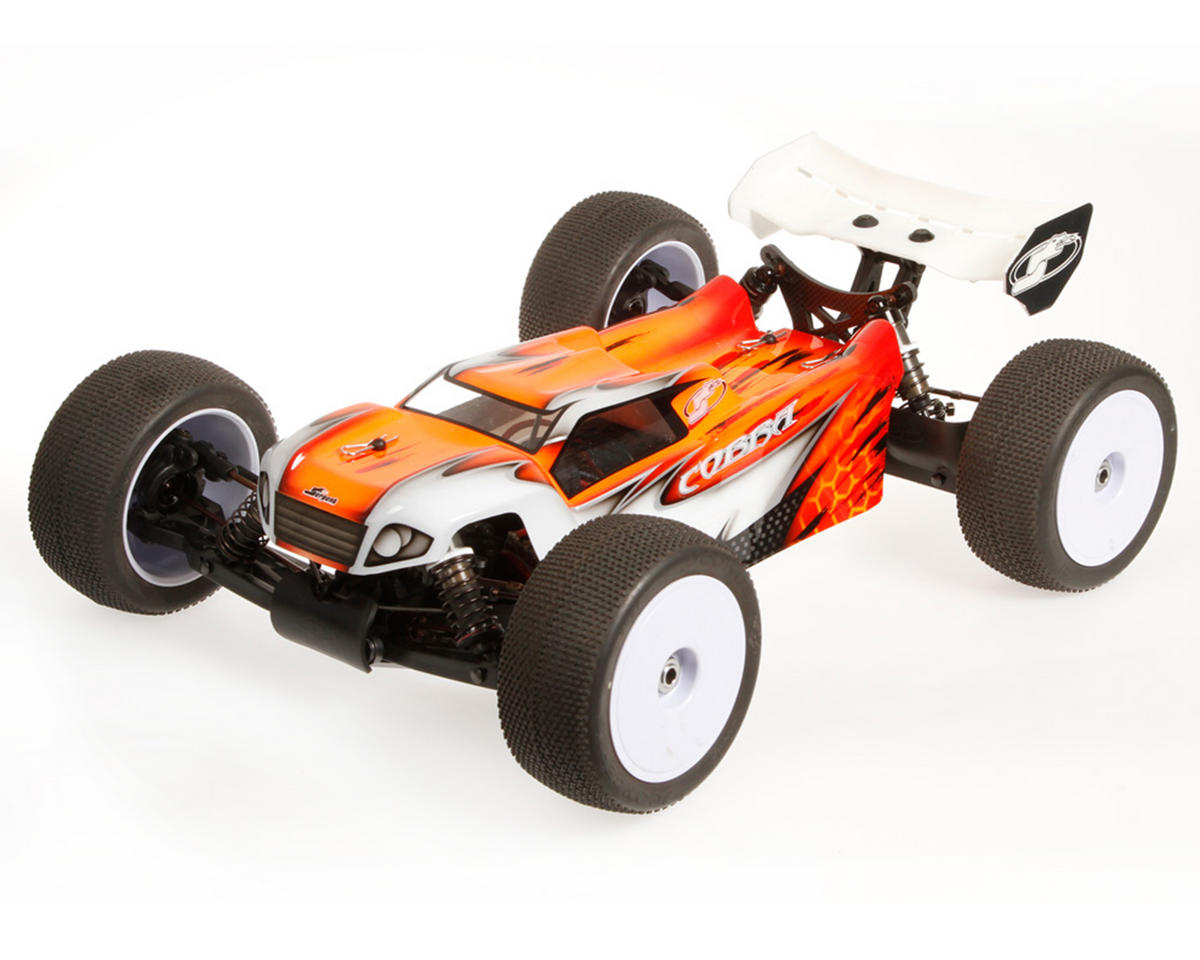 "S811T-E ""Cobra E"" 1/8 Electric 4WD Off-Road Truggy Kit"