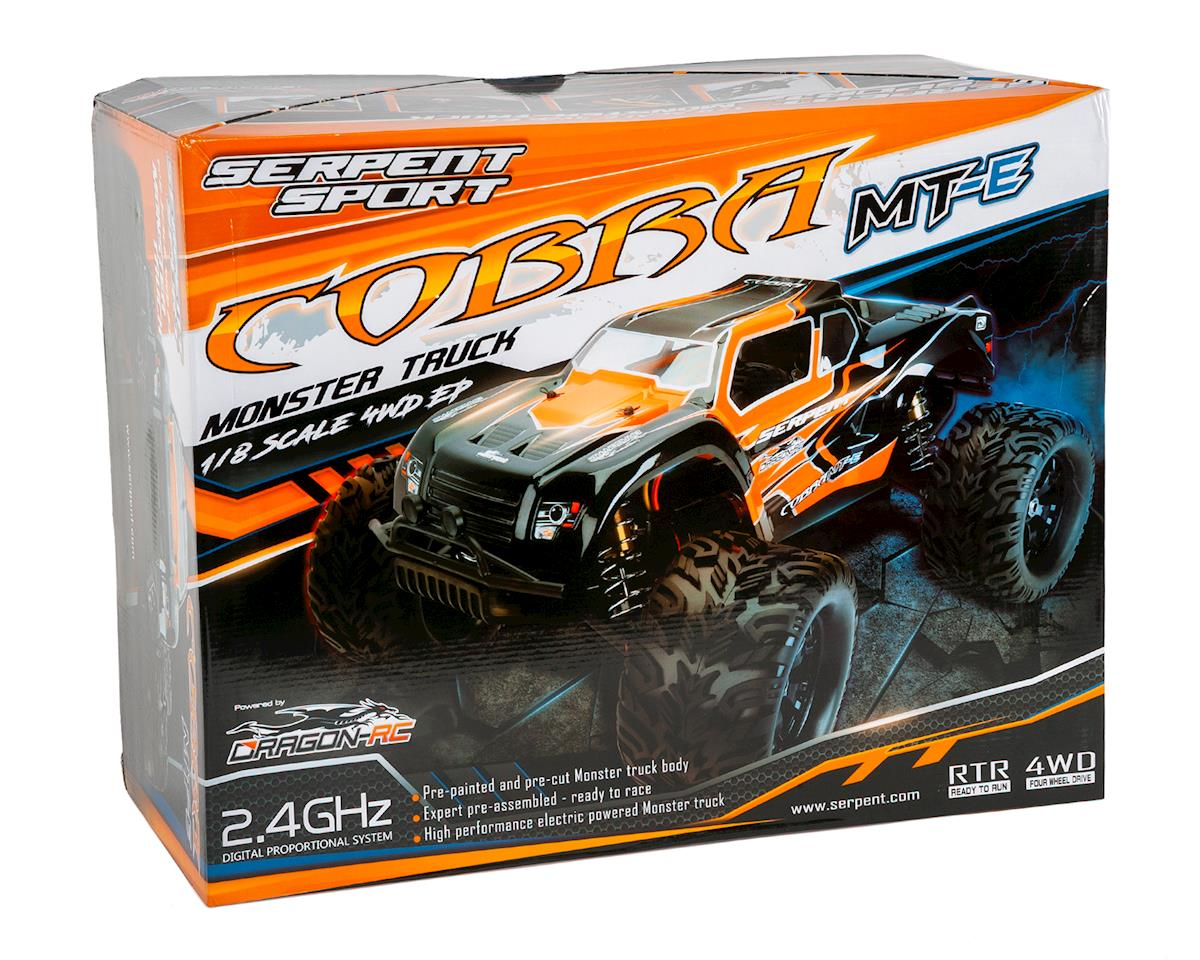 "Serpent ""Cobra MT-e"" RTR 1/8 Off-Road Electric Monster Truck"