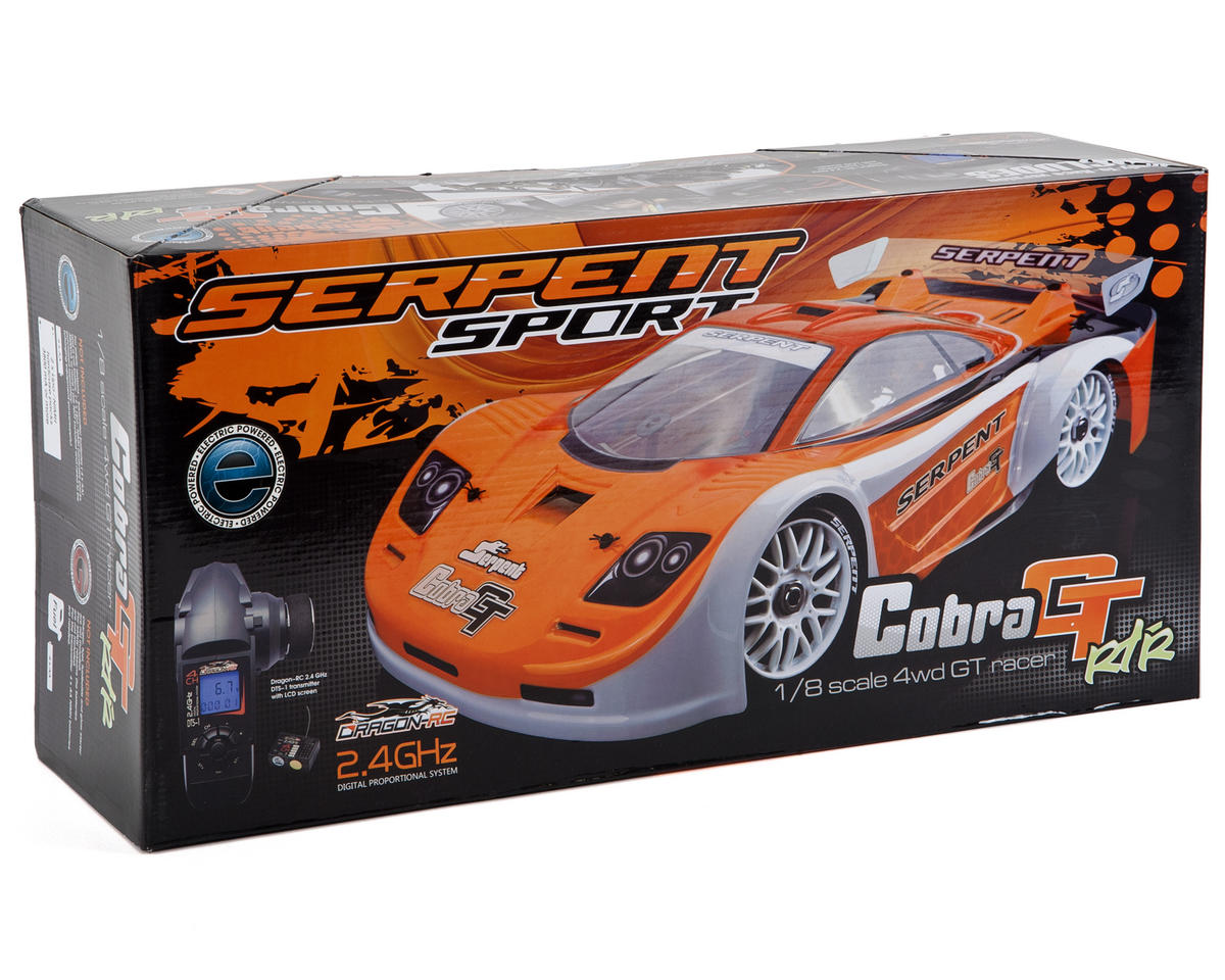 Serpent Cobra GT-e 1/8th Electric On Road Sedan