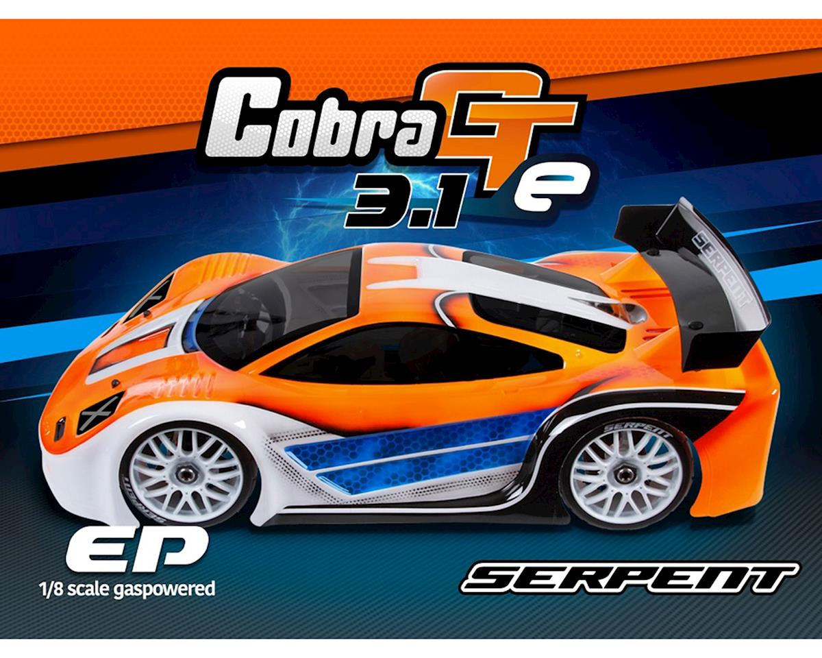 Serpent Cobra GTe 3.1 1/8th Electric On Road Sedan Kit