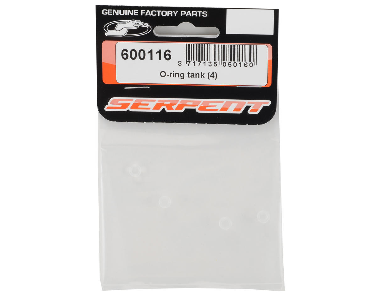 Fuel Tank O-Ring Set (4) by Serpent