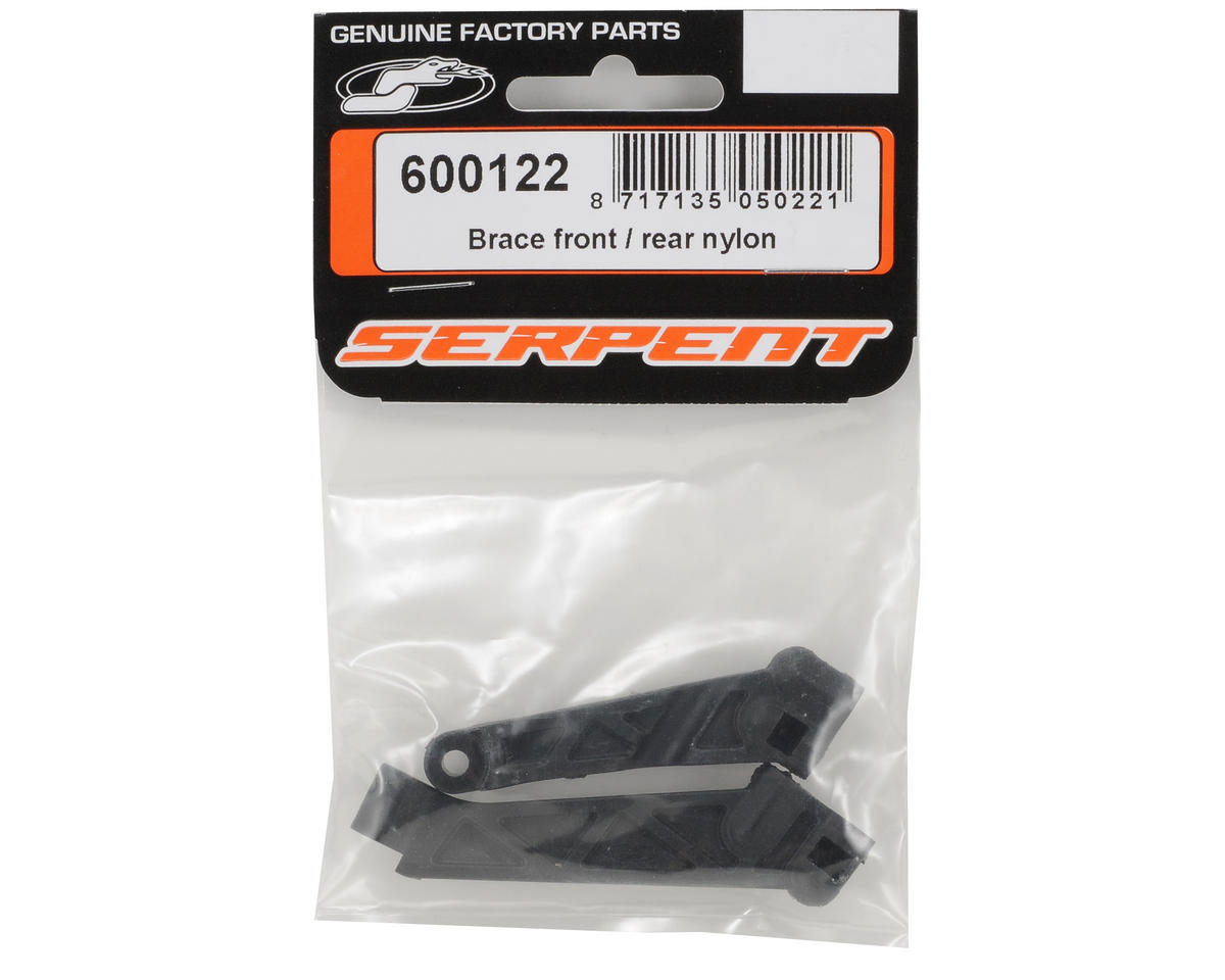 Serpent Nylon Front/Rear Brace Set
