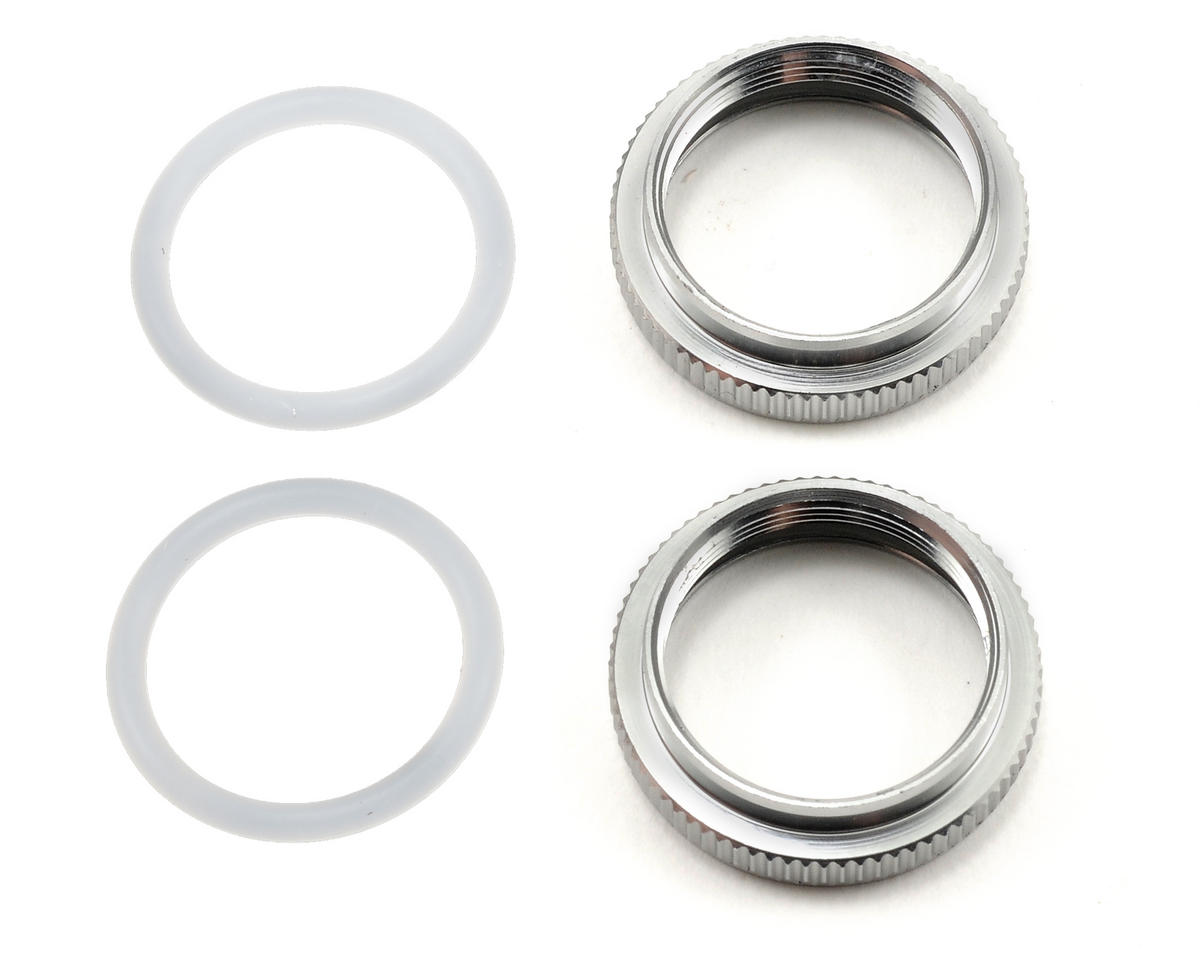 Serpent Shock Pre-Load Adjustment Nut Set w/O-Ring (2)