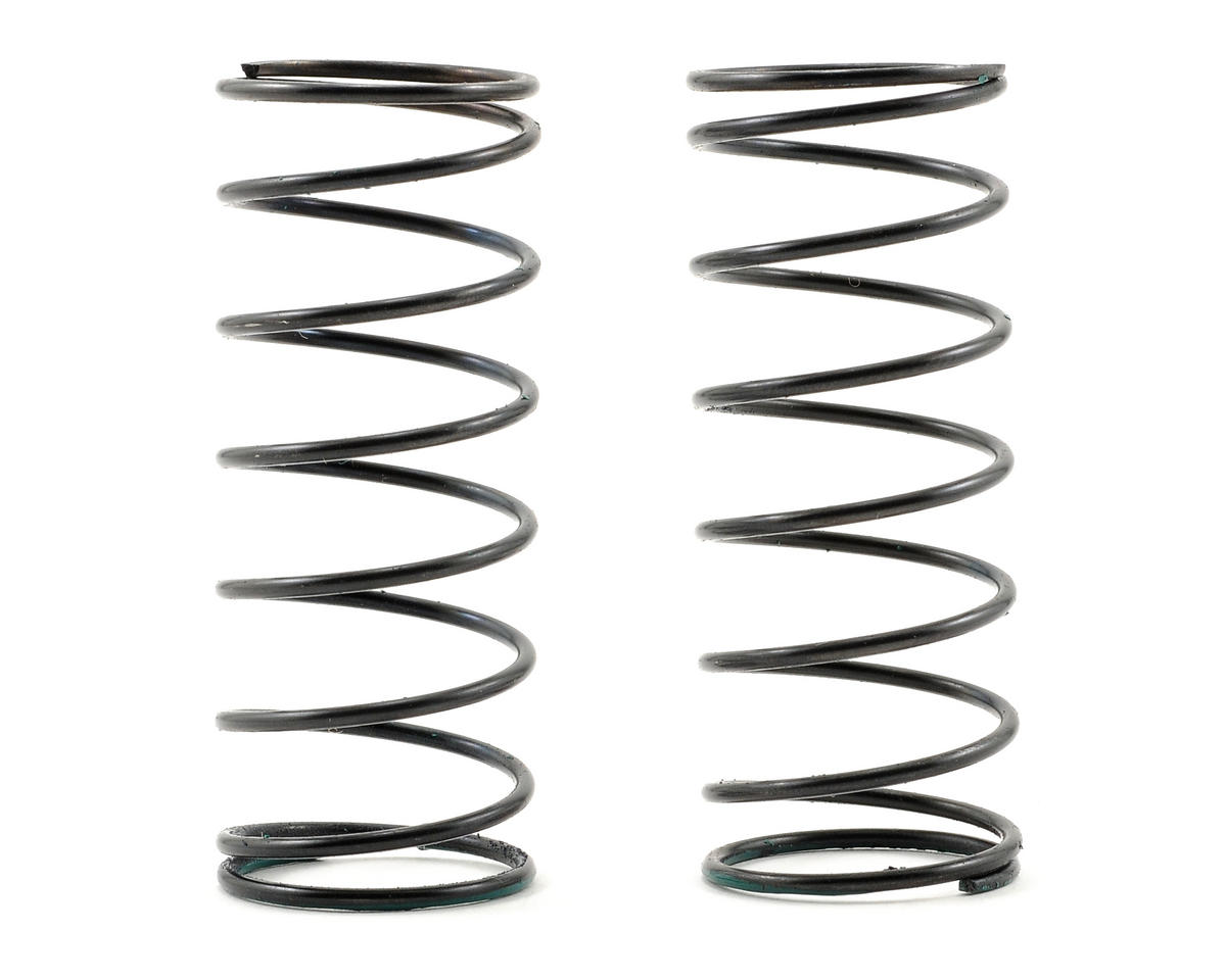 Serpent Front Shock Spring Set (Green/5.4lbs) (2)
