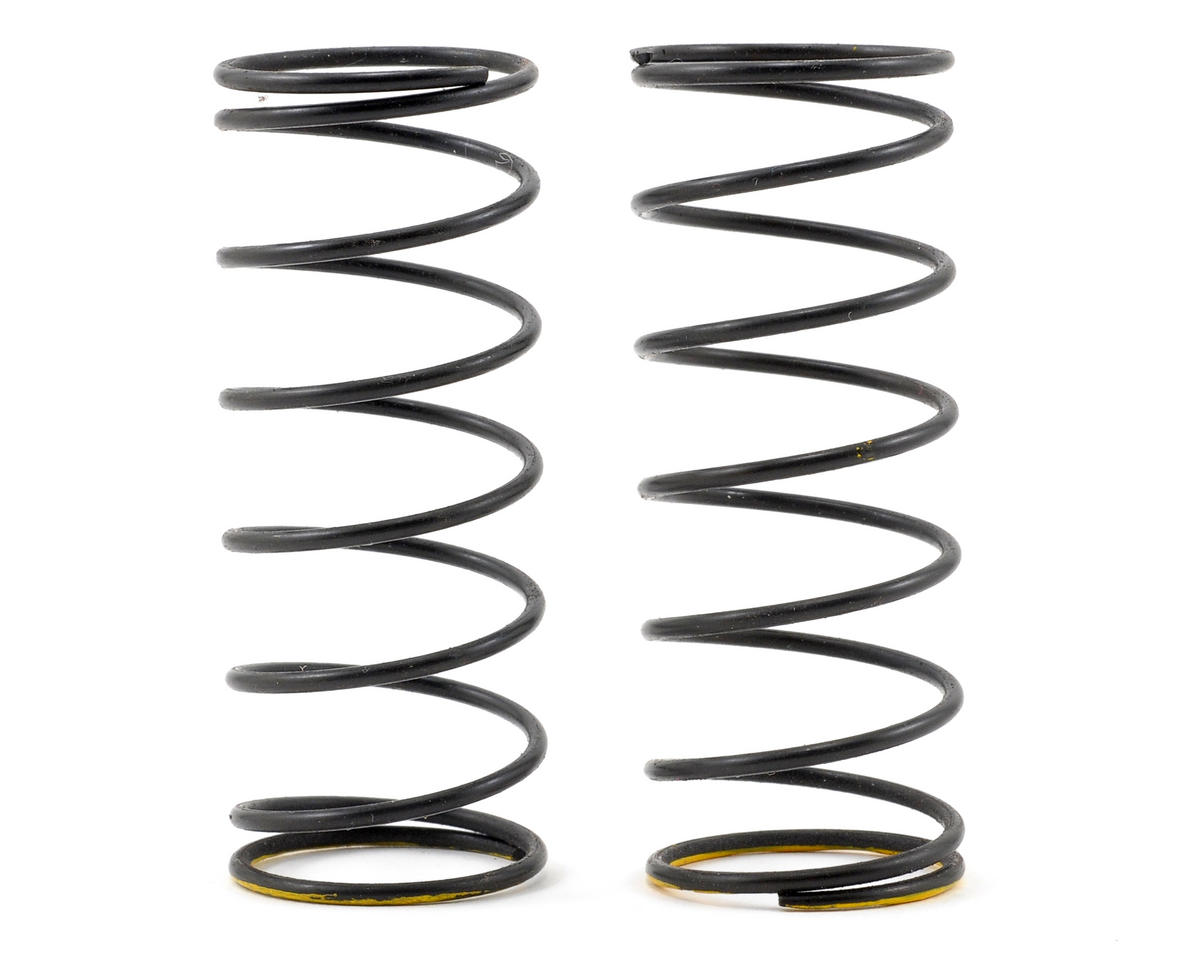 Serpent Front Shock Spring Set (Yellow/5.8lbs) (2)