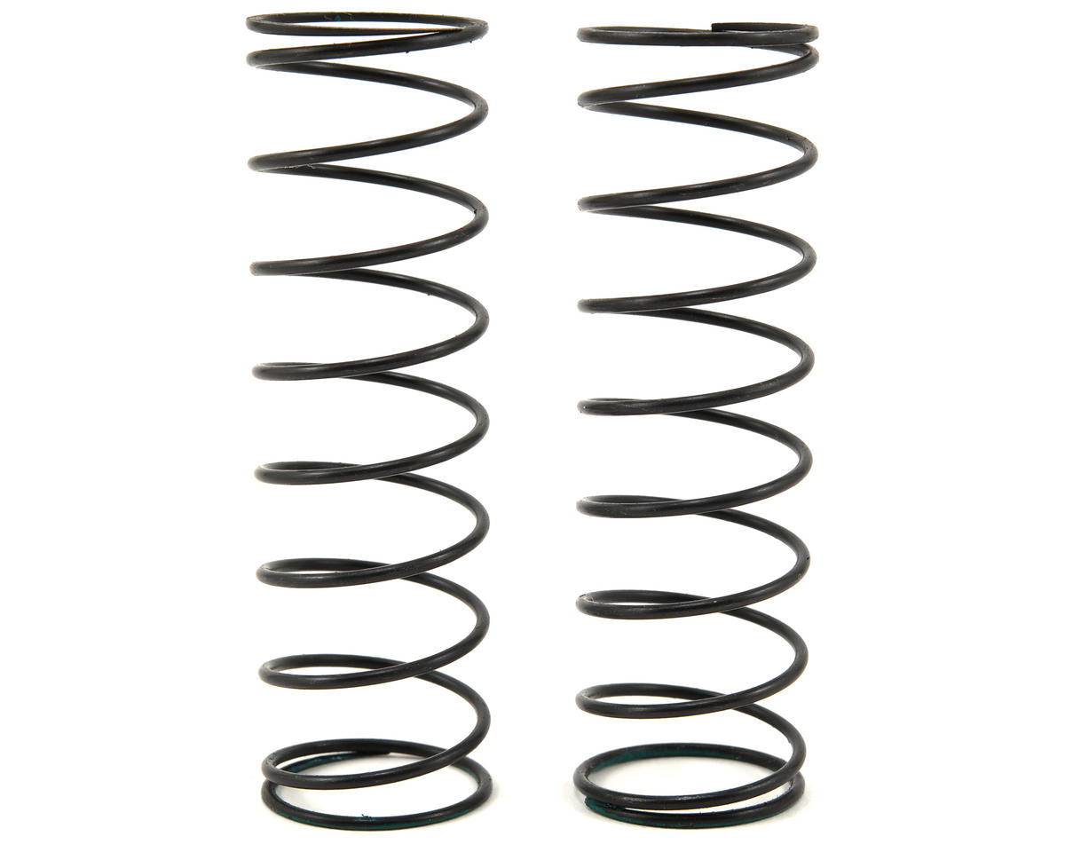 Serpent Rear Shock Spring Set (Green/3.4lbs) (2)