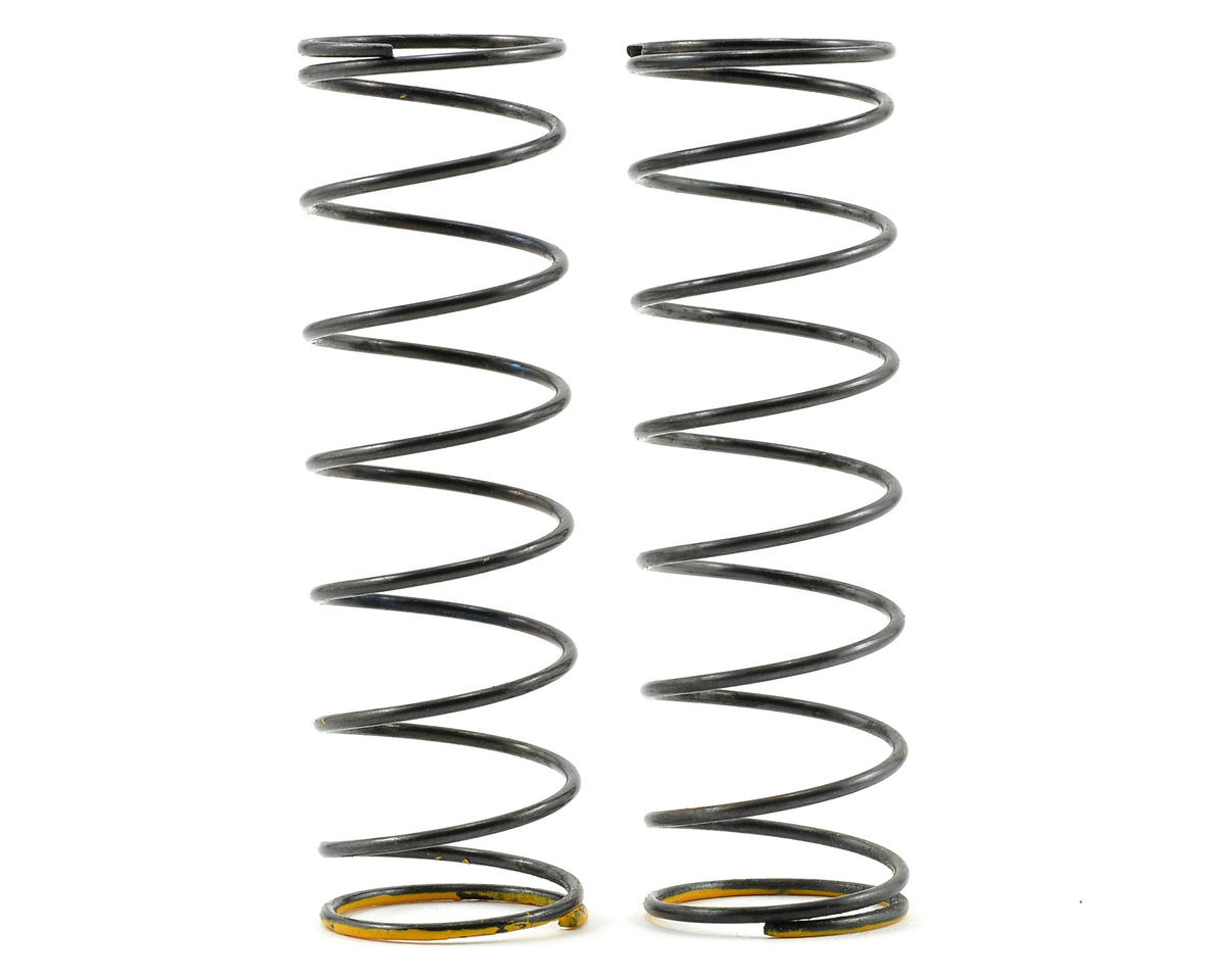 Serpent Rear Shock Spring Set (Yellow/3.8lbs) (2)