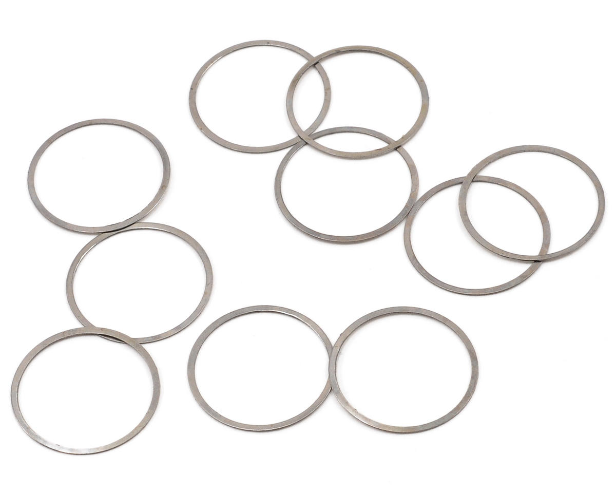 14x15.6x0.2mm Shim Set (10) by Serpent