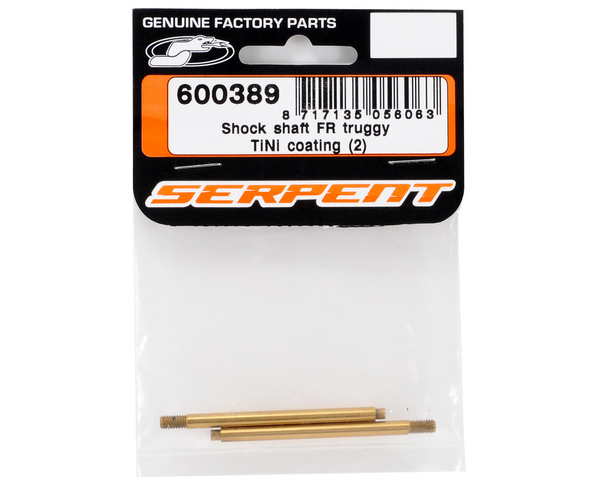 Serpent Ti-Nitride Front Shock Shaft Set (2)