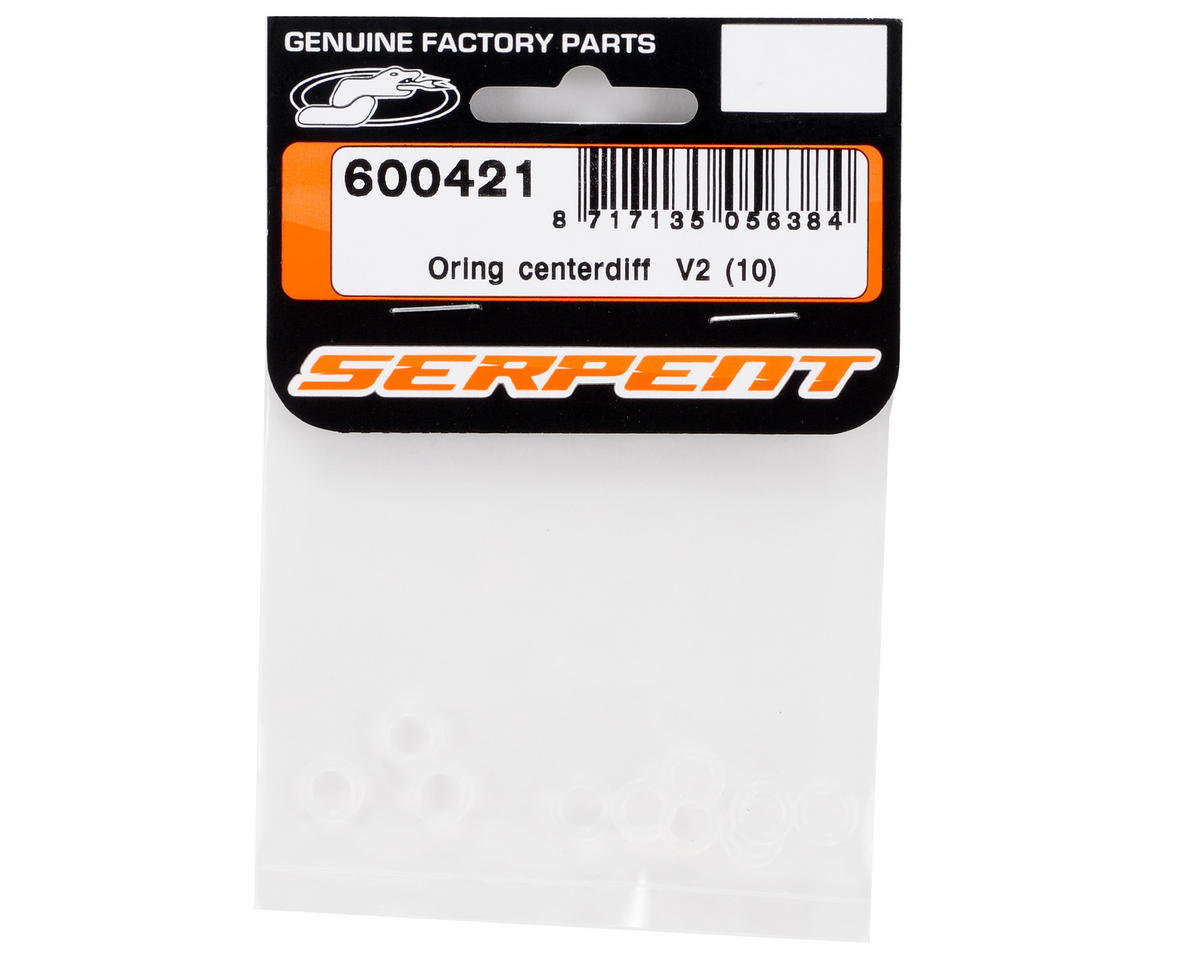 "Serpent ""V2"" Differential O-Ring Set (10)"
