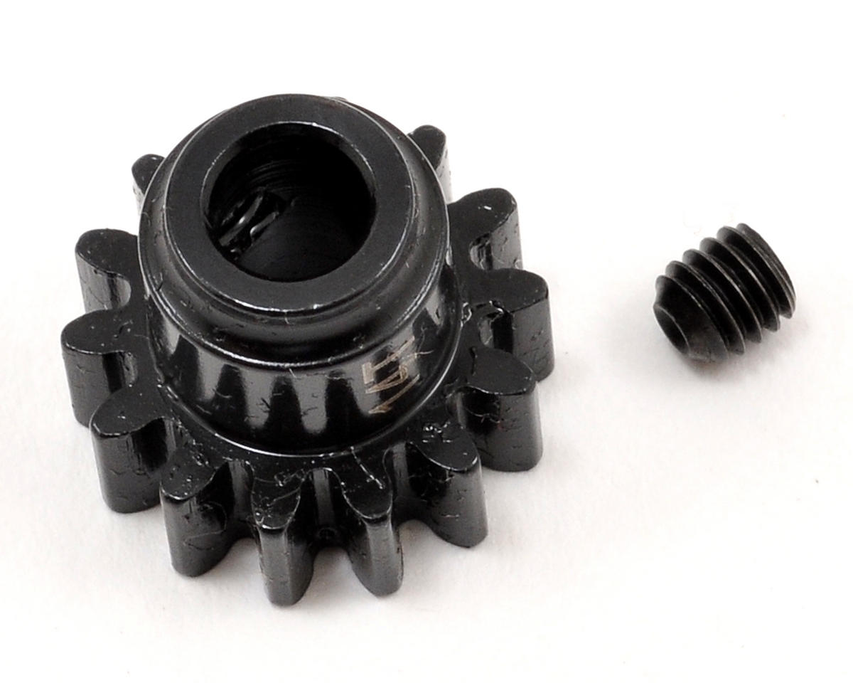 Steel Mod1 Pinion Gear w/5mm Bore (14T) by Serpent