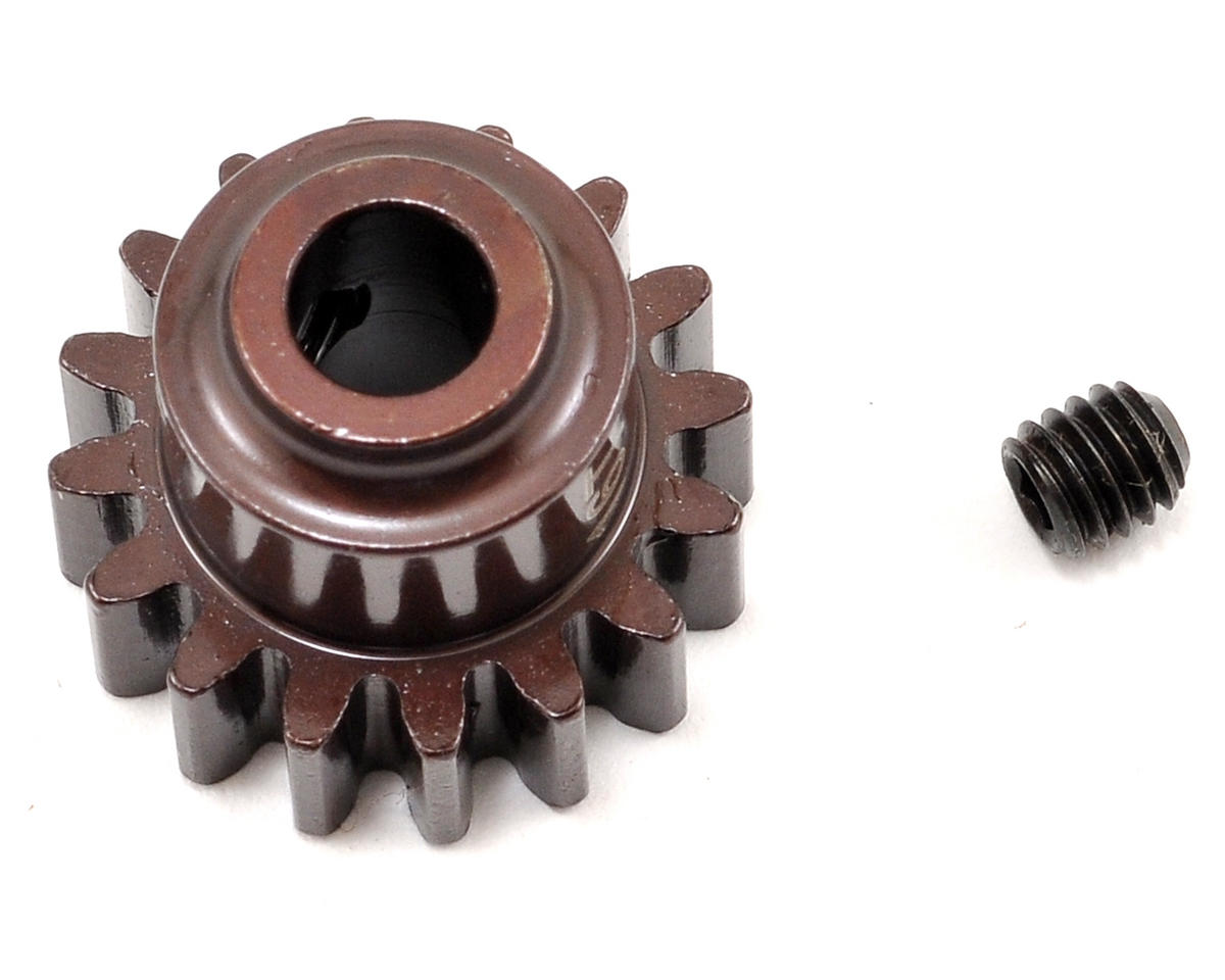 Steel Mod1 Pinion Gear w/5mm Bore (16T) by Serpent