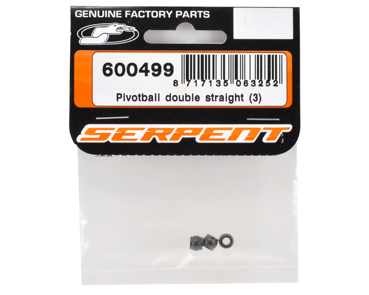 Serpent Double Straight Pivot Ball Set (3)