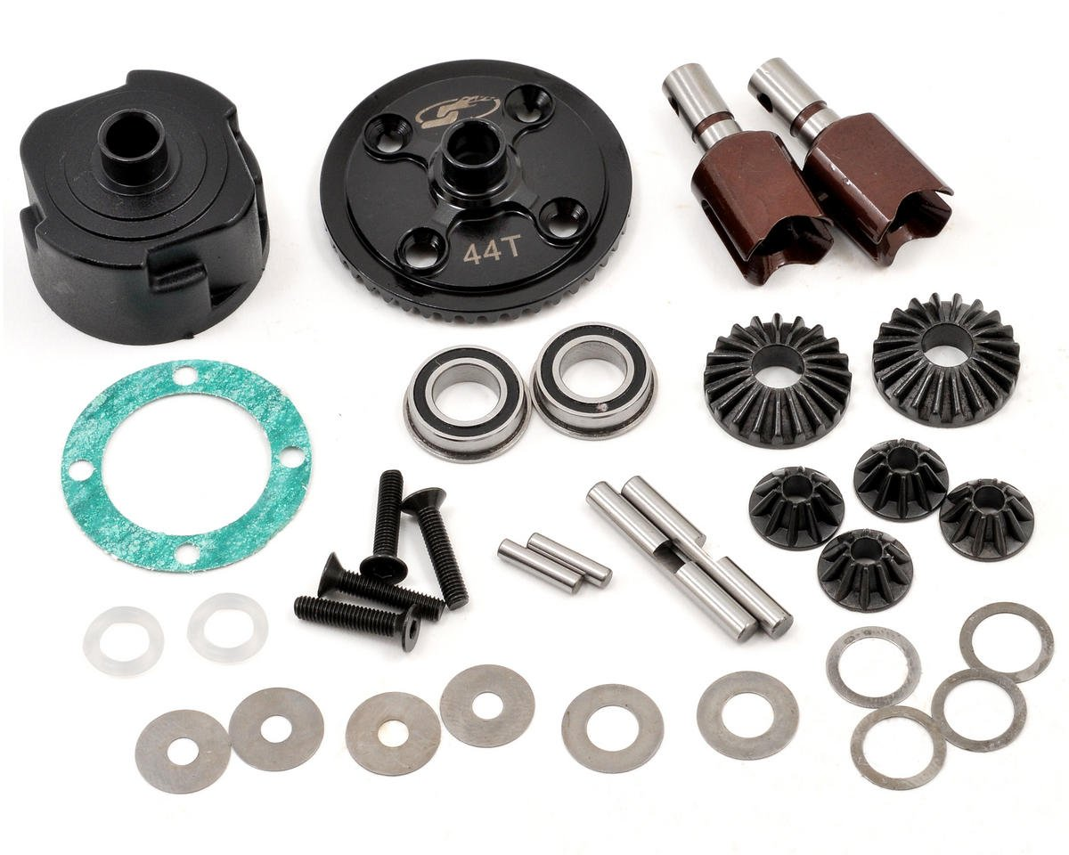 Serpent S811e Cobra Complete Front/Rear 44T Differential Set