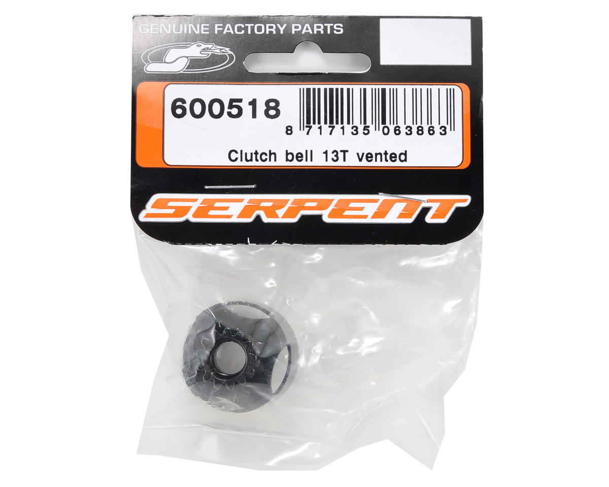 Vented Clutch Bell (13T) by Serpent