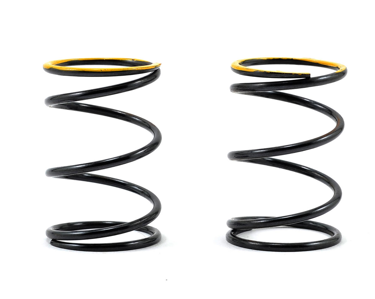 Serpent S811 Cobra GT-e Front/Rear Shock Spring (Yellow/29lbs) (2)