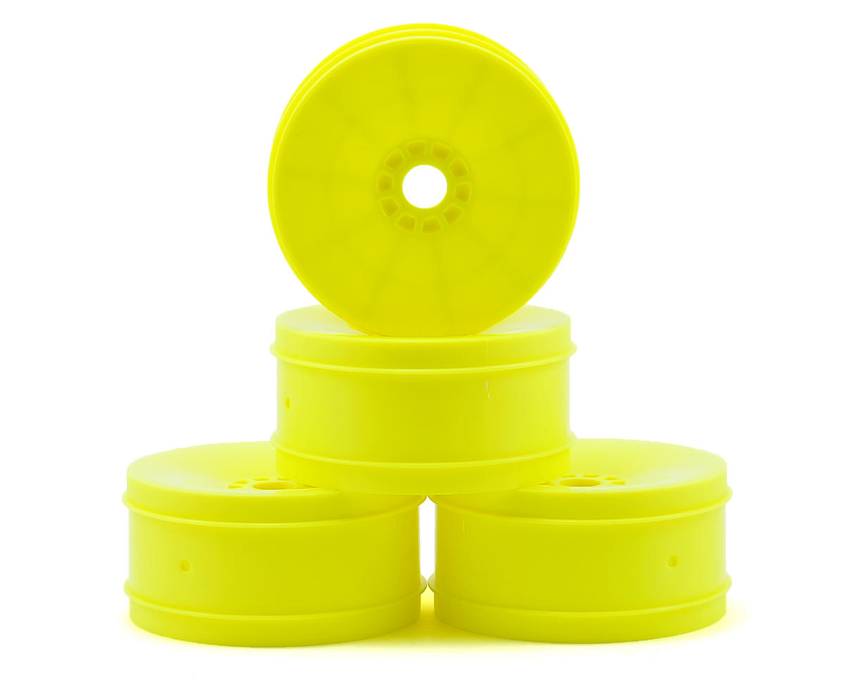 Serpent 1/8 Buggy Wheel (4) (Yellow)