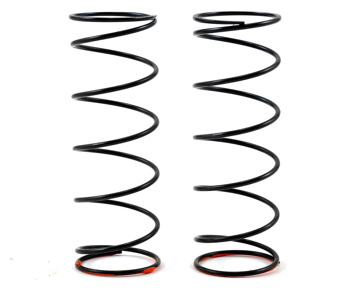 Serpent V2 Front Spring Set (Orange) (2) (0.66N/3.8lbs)