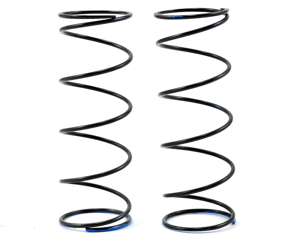 Serpent V2 Front Spring Set (Blue) (2) (0.75N/4.3lbs)