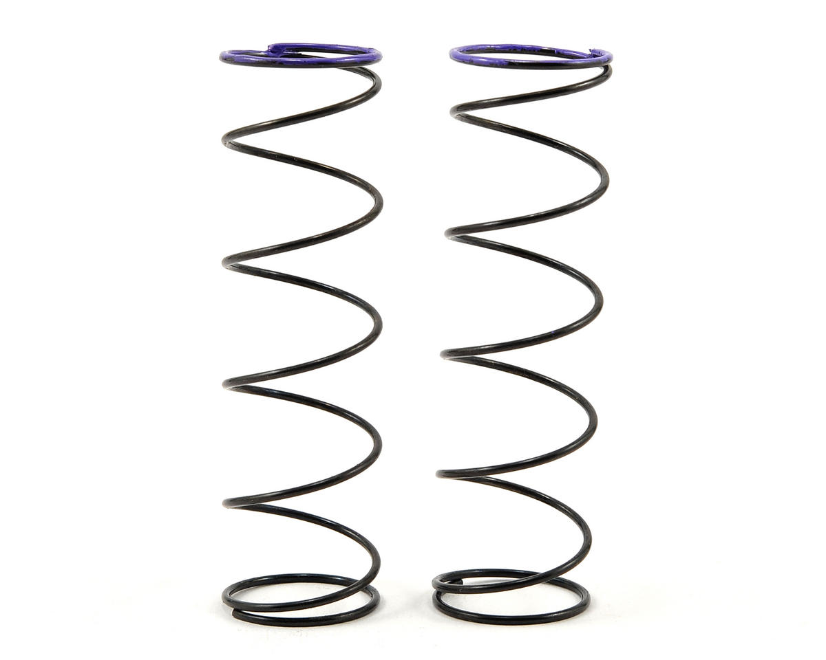 Serpent V2 Rear Spring Set (Purple) (2) (0.61N/3.5lbs)