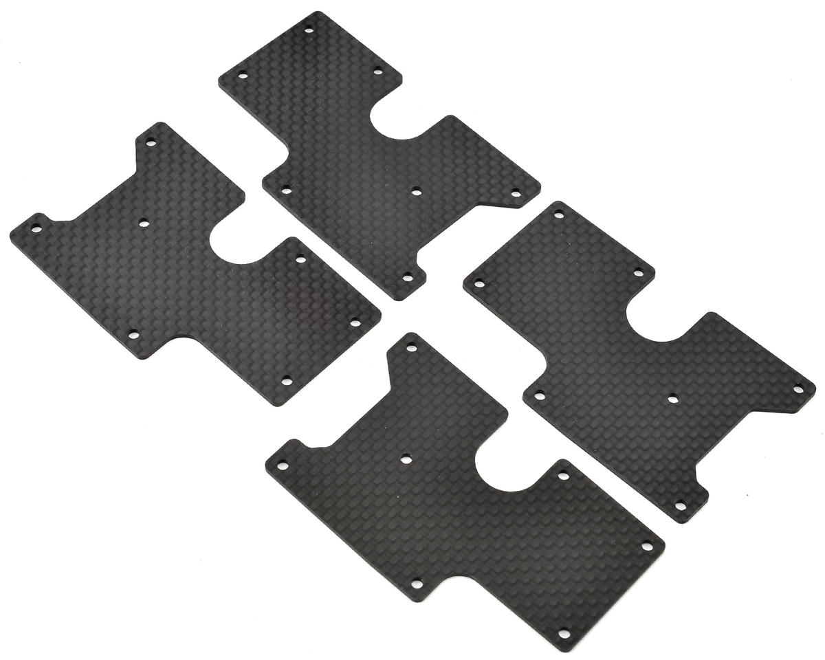 Serpent Rear Carbon Wishbone Insert (4)