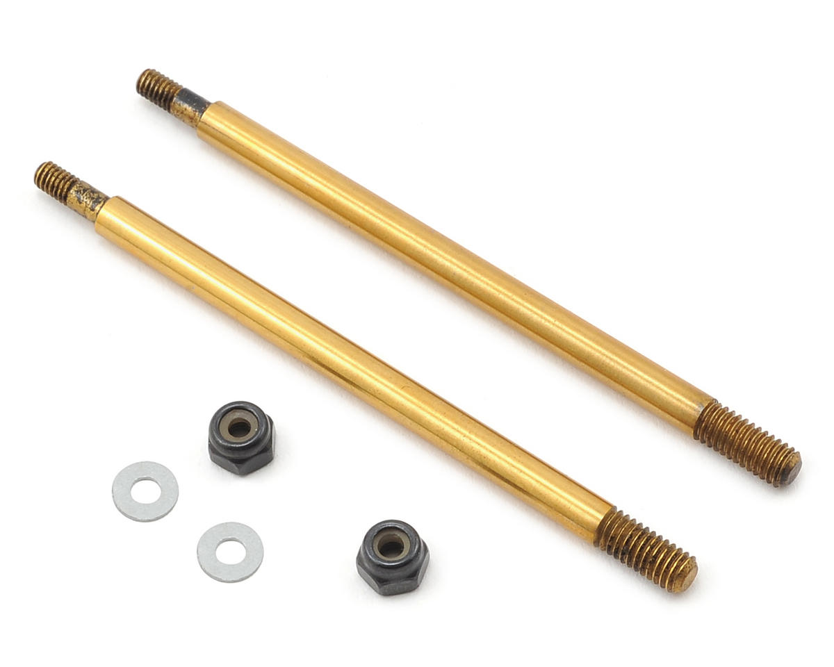 Serpent Ti-Nitride Coated Rear Shock Shaft (2)