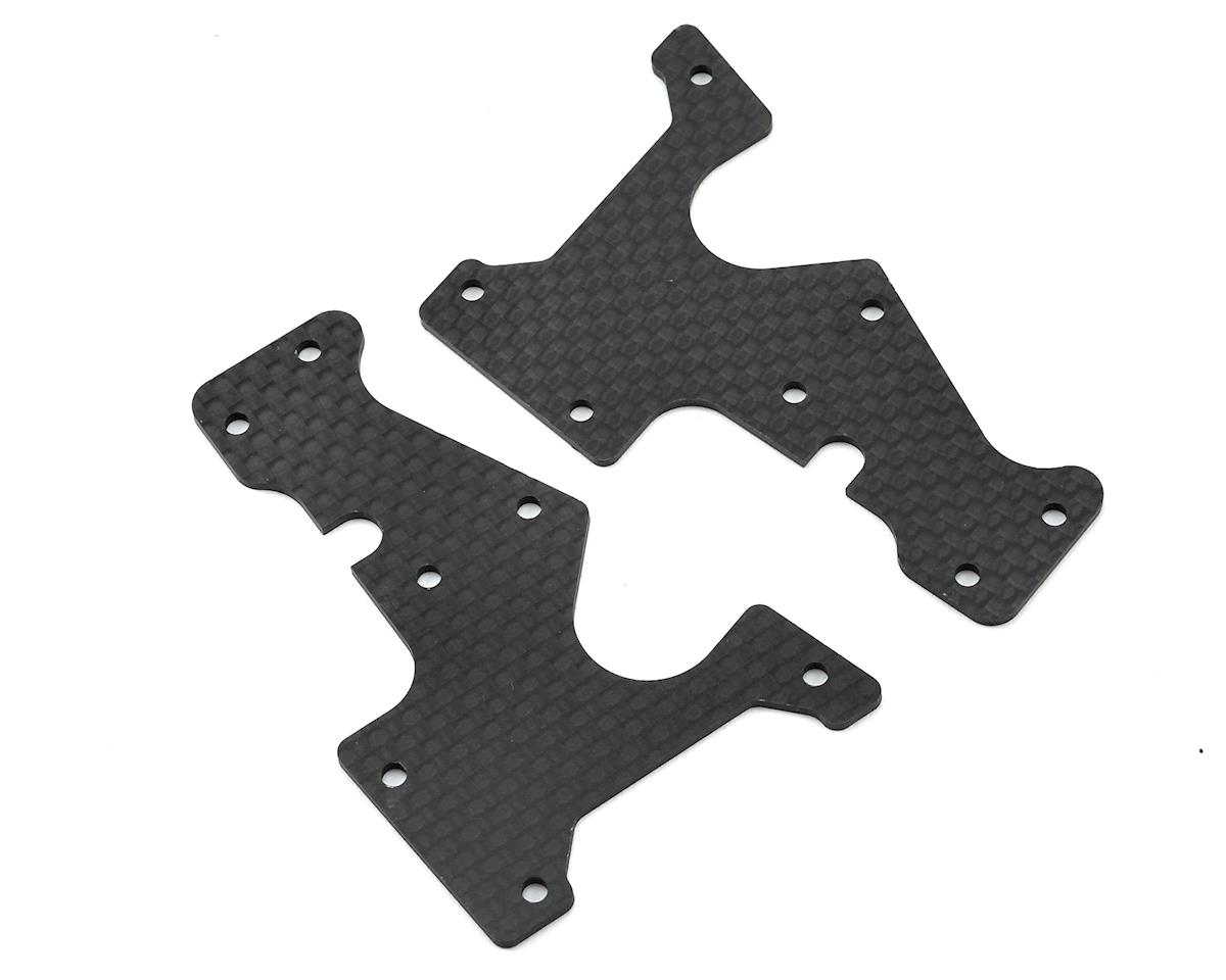 Serpent Carbon SRX8 Front Lower Wishbone Insert (2)