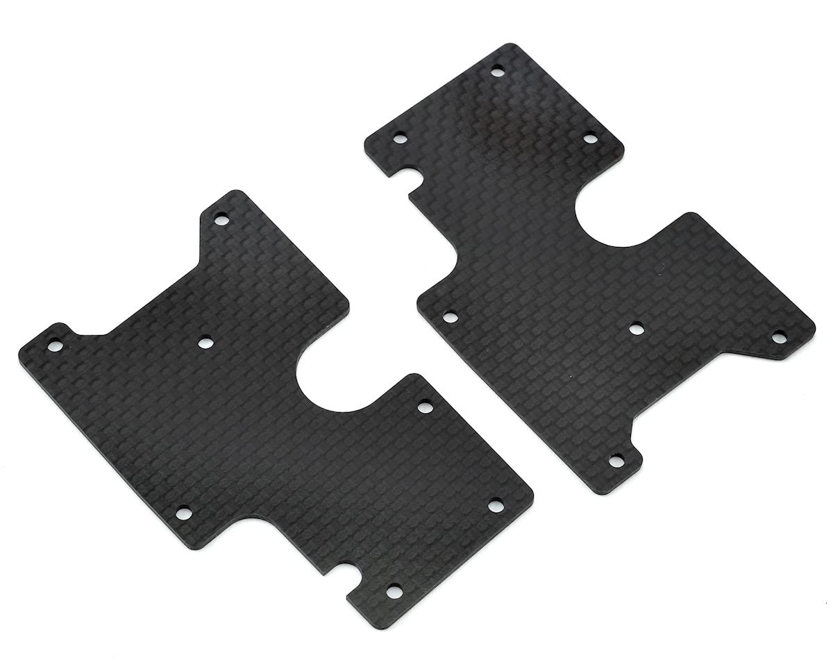Serpent SRX8 Rear Lower Carbon Wishbone Insert (2)