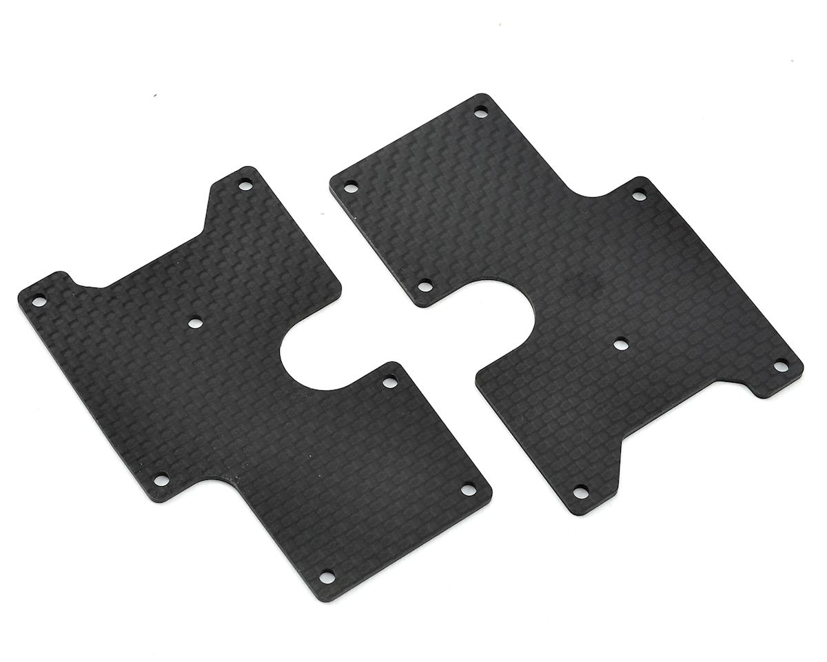 Carbon SRX8 Rear Upper Wishbone Insert (2) by Serpent
