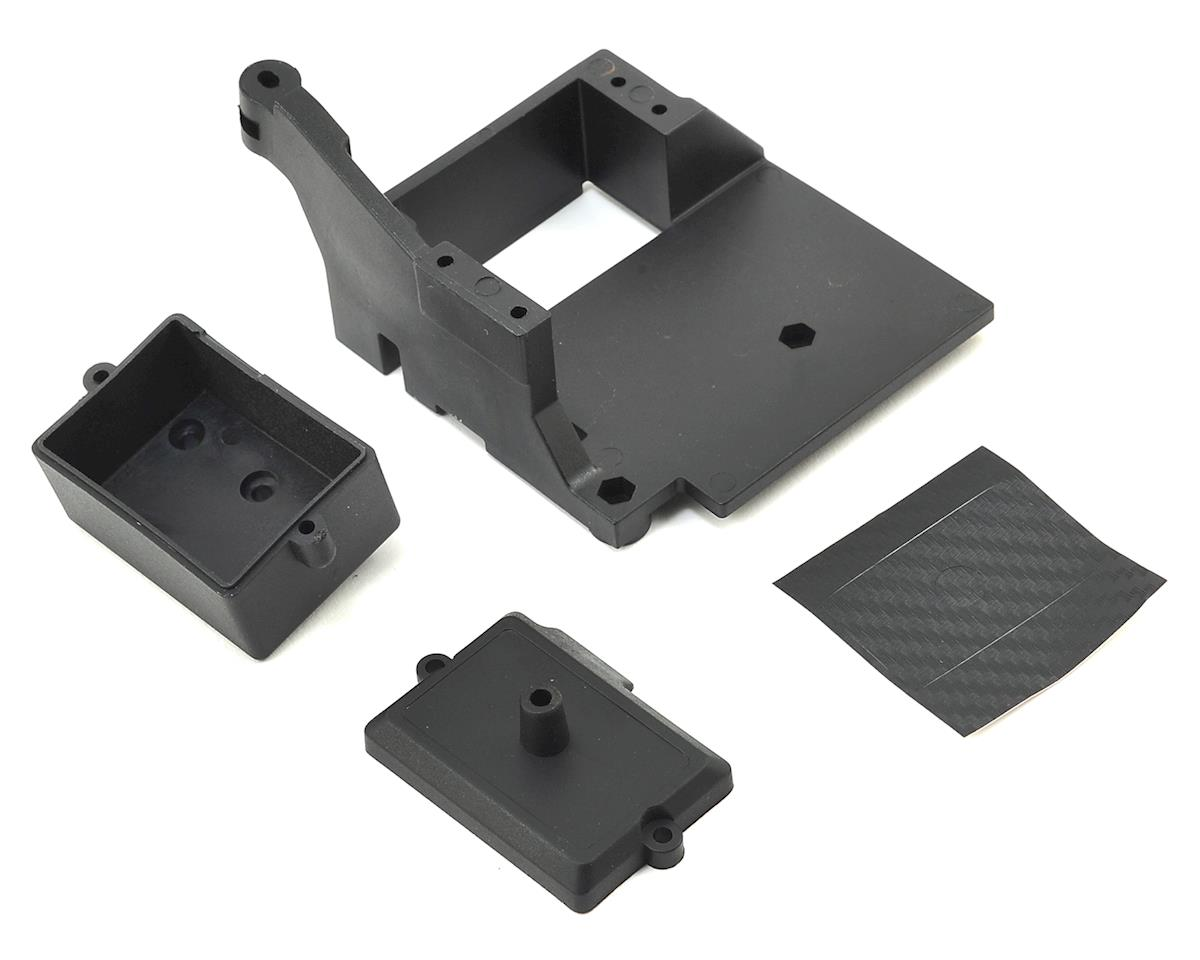 Serpent SRX8-E Radiobox / Servo Mount Set