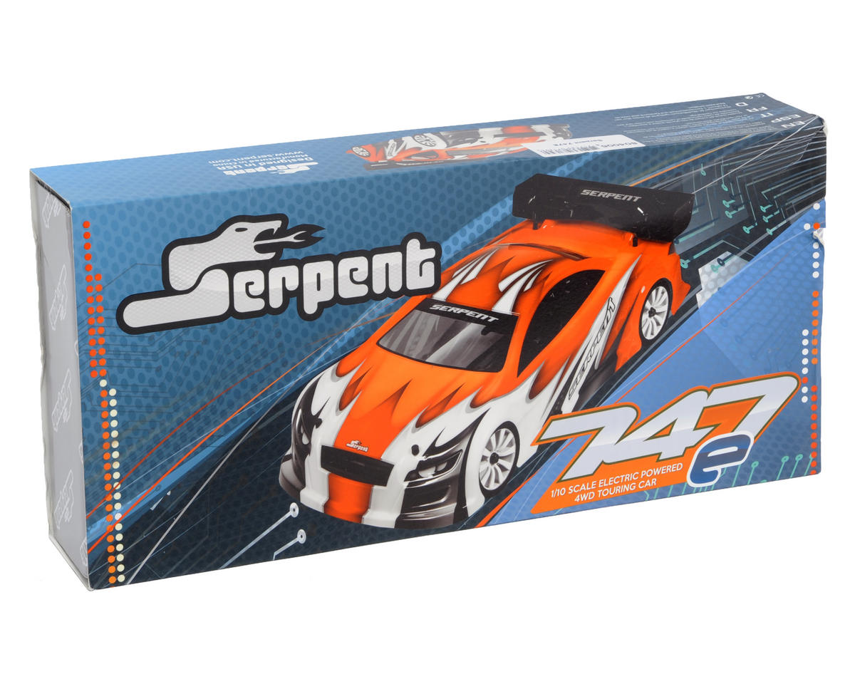 Serpent 747e 200mm 1/10 Scale 4WD Electric Touring Car Kit