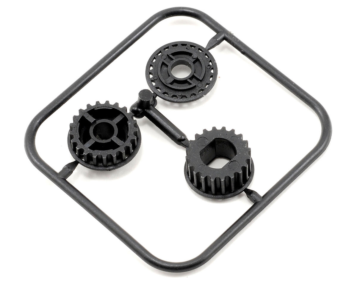 2 Speed 20T/21T Pulley Set (2) by Serpent