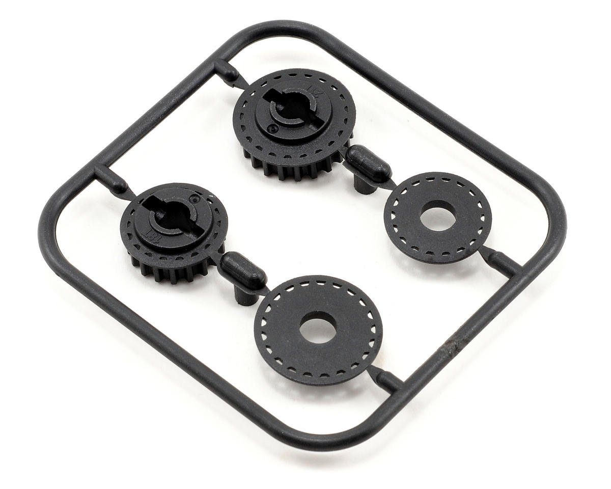 Serpent 18T/21T Middle Pulley Set (2)