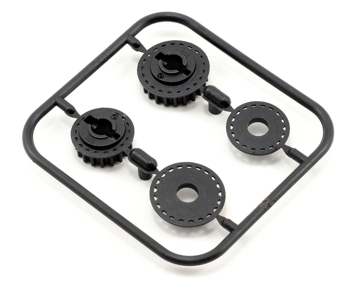 18T/21T Middle Pulley Set (2) by Serpent