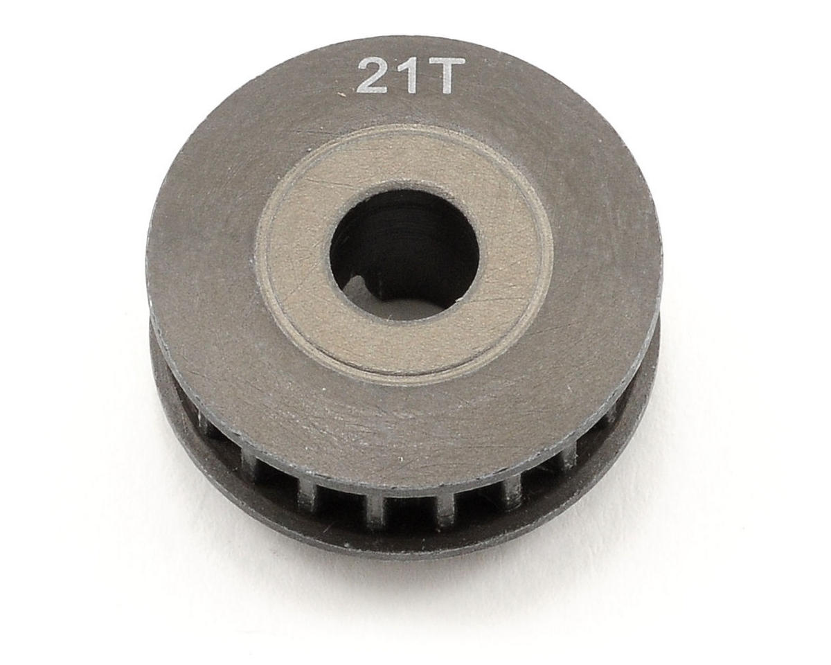Aluminum 21T Middle/Side Belt Pulley by Serpent