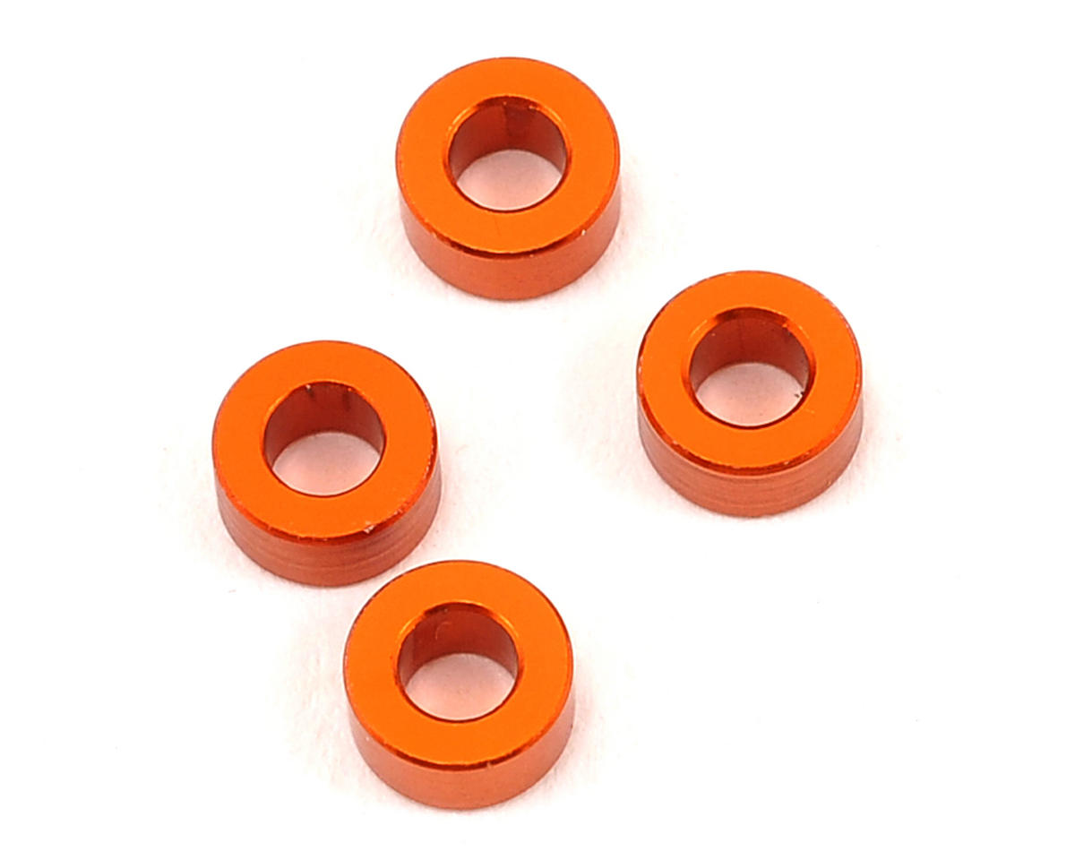 Serpent S120LT 3x6x3mm Aluminum Shim (4)