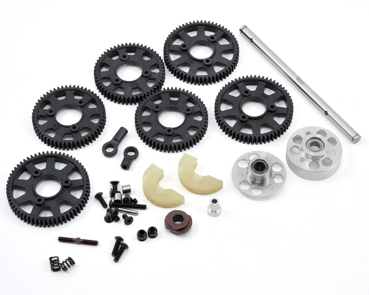 Serpent 733 SL6 Gearbox Set