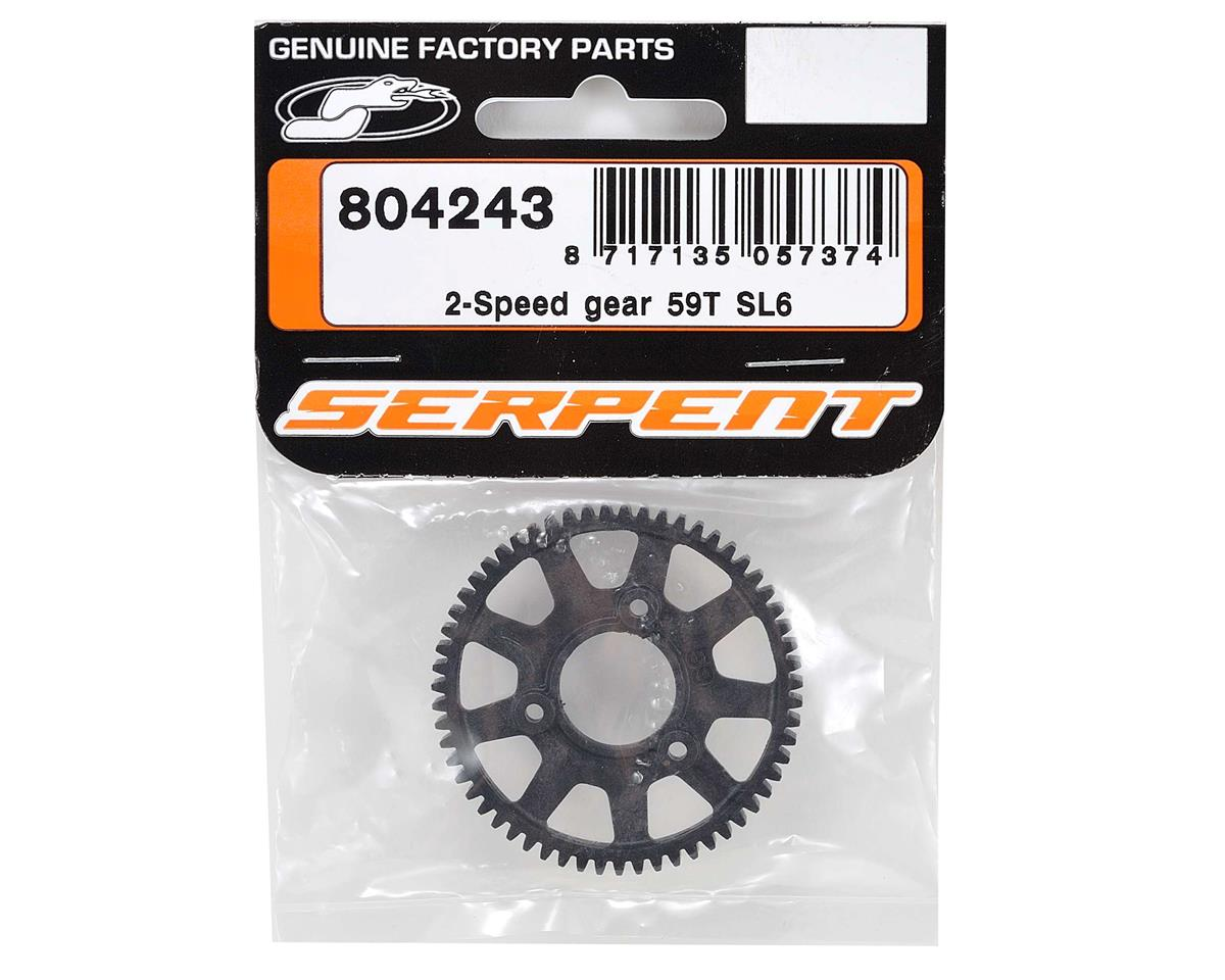 Serpent SL6 2-Speed Gear (59T)