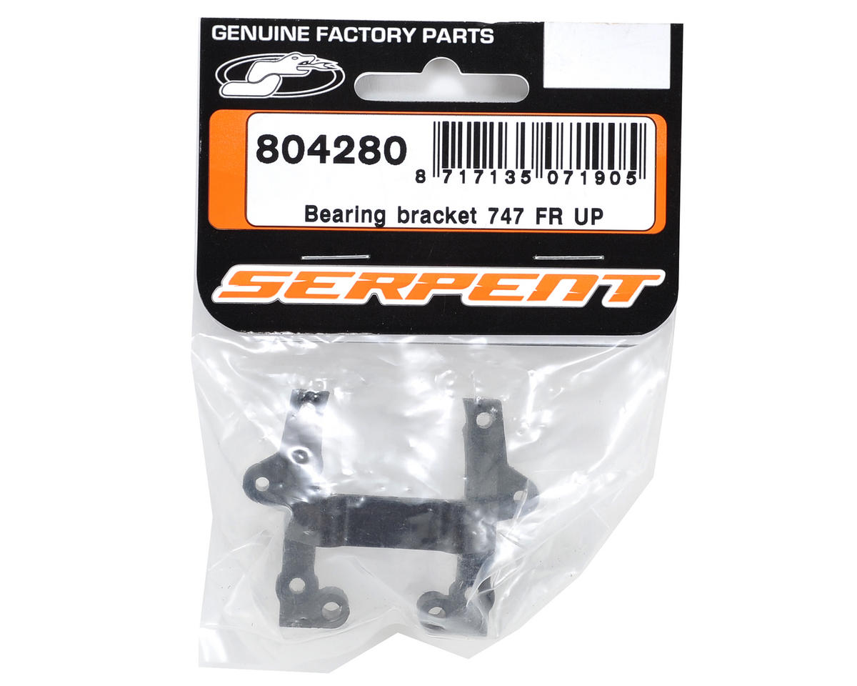Front Upper Bearing Bracket by Serpent