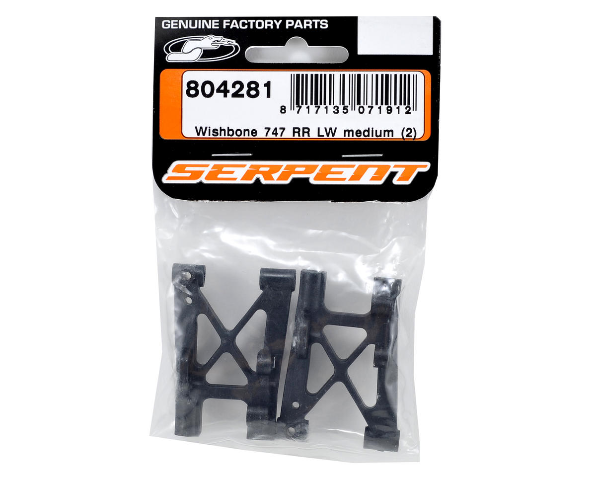 Serpent Rear Lower Wishbone Set (Medium) (2)