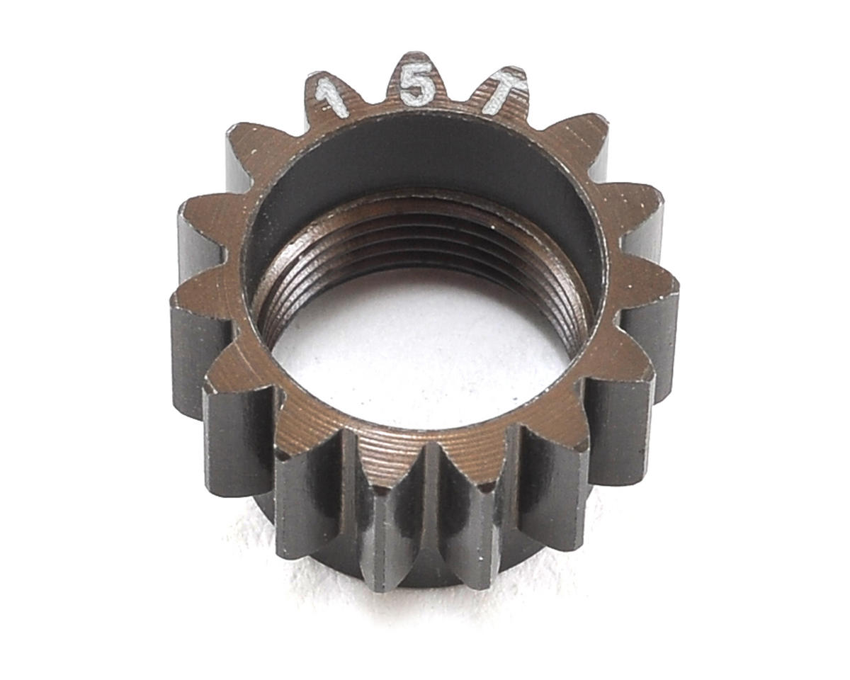 Aluminum Centax-3 V2 Pinion Gear (15T) by Serpent